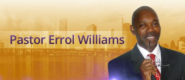 Pastor Errol Williams